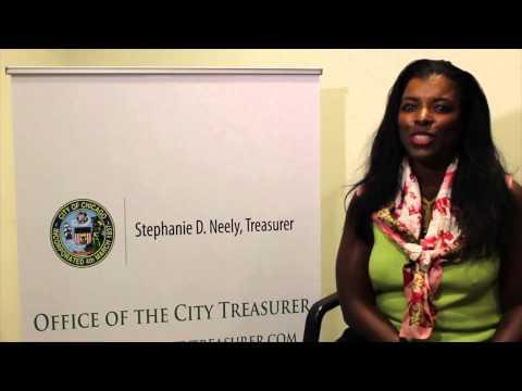 City Treasurer Stephanie Neely at EWC28