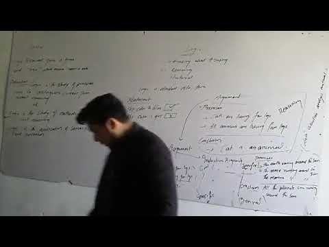 Introduction To Logic | LECTURE 1| In Hindi / Urdu