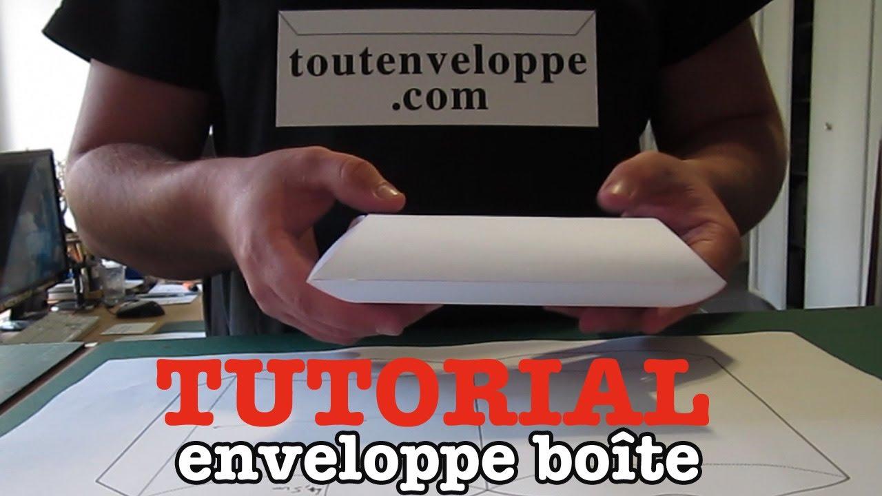 comment faire une enveloppe en papier boite en papier youtube. Black Bedroom Furniture Sets. Home Design Ideas
