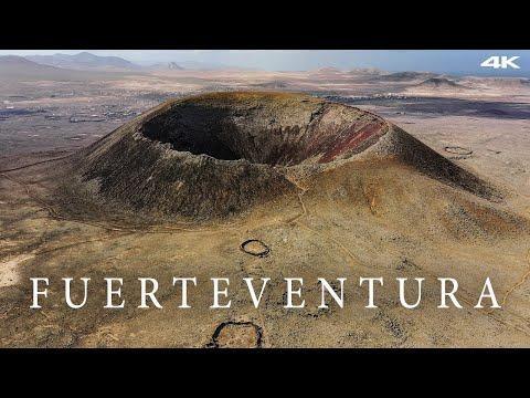 Fuerteventura Travel Film - Canary Islands - 4K AERIAL DRONE