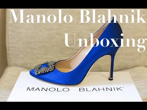 Manolo Blahnik Unboxing! | Luxury Designer Shoes