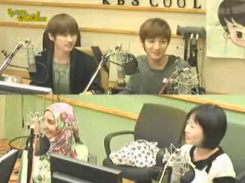 [20100930] kiss the radio Eunteuk MC of Arab Talk♡