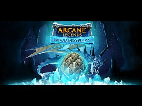 ARCANE LEGENDS : Winter Event 2016 Frist Day