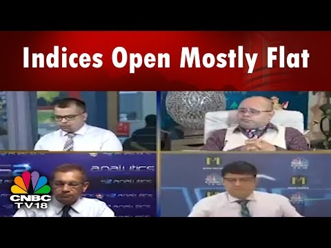 Indices Open Mostly Flat | Market Opening Bell | 17th April | CNBC TV18