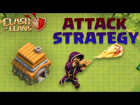 Clans Of Clans Town Hall 6 Attack Strategy 2018!