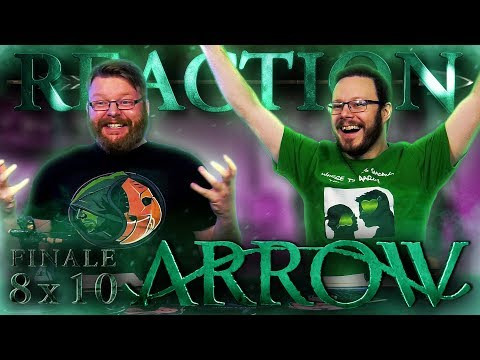 "Arrow 8x10 REACTION!! ""Fadeout"" - Series Finale"
