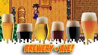 Stardew Valley Gameplay: Brewery Kegs & Preserves Jars - Stardew Valley Walkthrough / Playthrough