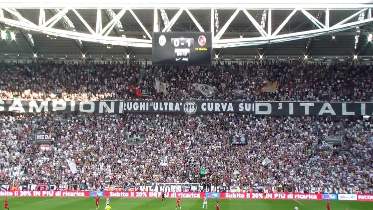 CURVA SUD JUVENTUS Vs Cagliari 31 YouTube