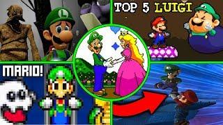 Top 5 Cosas que Luigi puede hacer y Mario NO