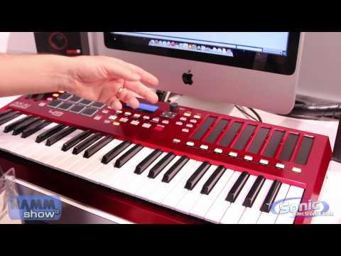 NEW Akai Pro MAX49 USB/MIDI Keyboard Controller (Winter 2012 NAMM Show)