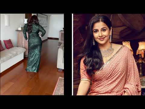 """Balan's Response To Those Who Say She """"Only Wears Indian"""" Outfits ।। Viral Video"""