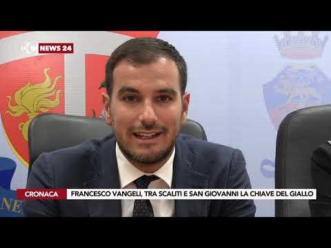 FRANCESCO VANGELI, TRA SCALITI E SAN GIOVANNI LA CHIAVE DEL GIALLO thumbnail