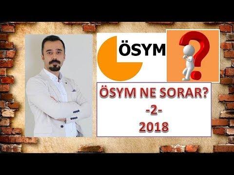 YKS EDEBİYAT SORU TAHMİNLERİ - 2 (2018)