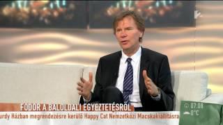 Fodor Gábor szerint Gyurcsány szétverte az ellenzéki megbeszéléseket - tv2.hu/mokka