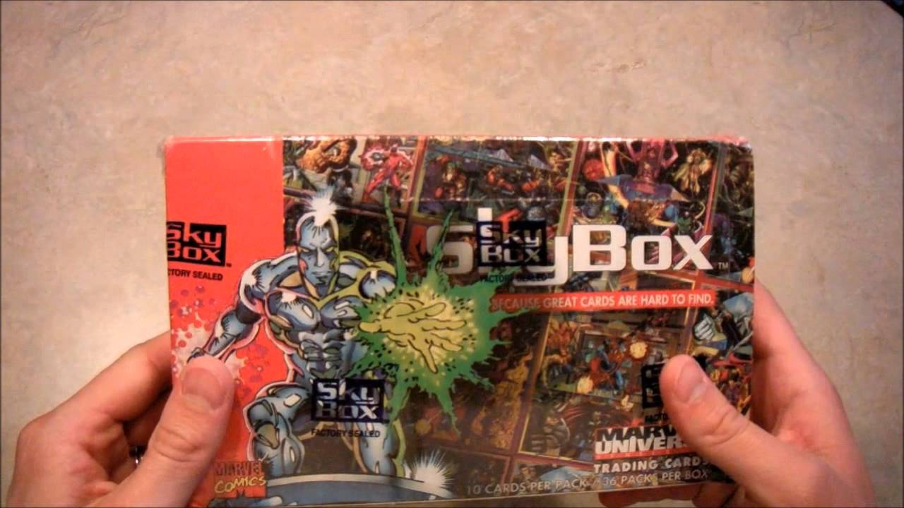 30c94337489 Marvel Universe Trading Cards - Series IV Unboxing - YouTube