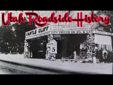 Utah History: Castle Cliff Gas Station Beaver Dam UT 2019