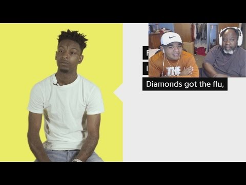 "Dad Reacts to 21 Savage ""X"" Official Lyrics & Meaning"
