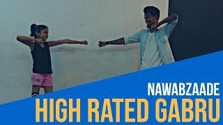 Nawabzaade|High Rated Gabru |Girl's Dance Choreography |Akriti x Riski Rishi
