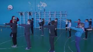 Урок фізичної культури з елементами футболу 4 клас.Володимирівська ЗОШ I-III ступенів №1.