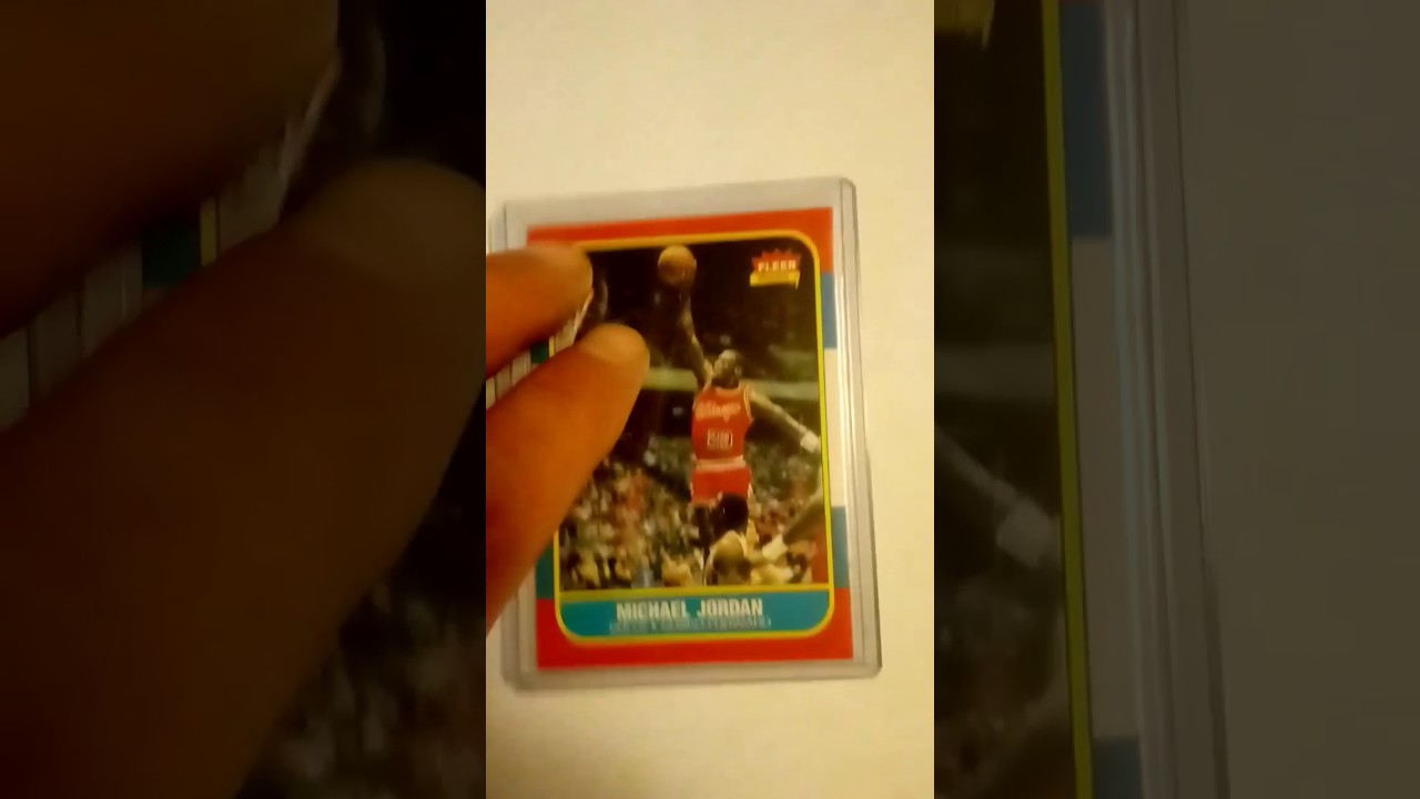The Difference Between A Real Michael Jordan Rookie Card And A Fake One