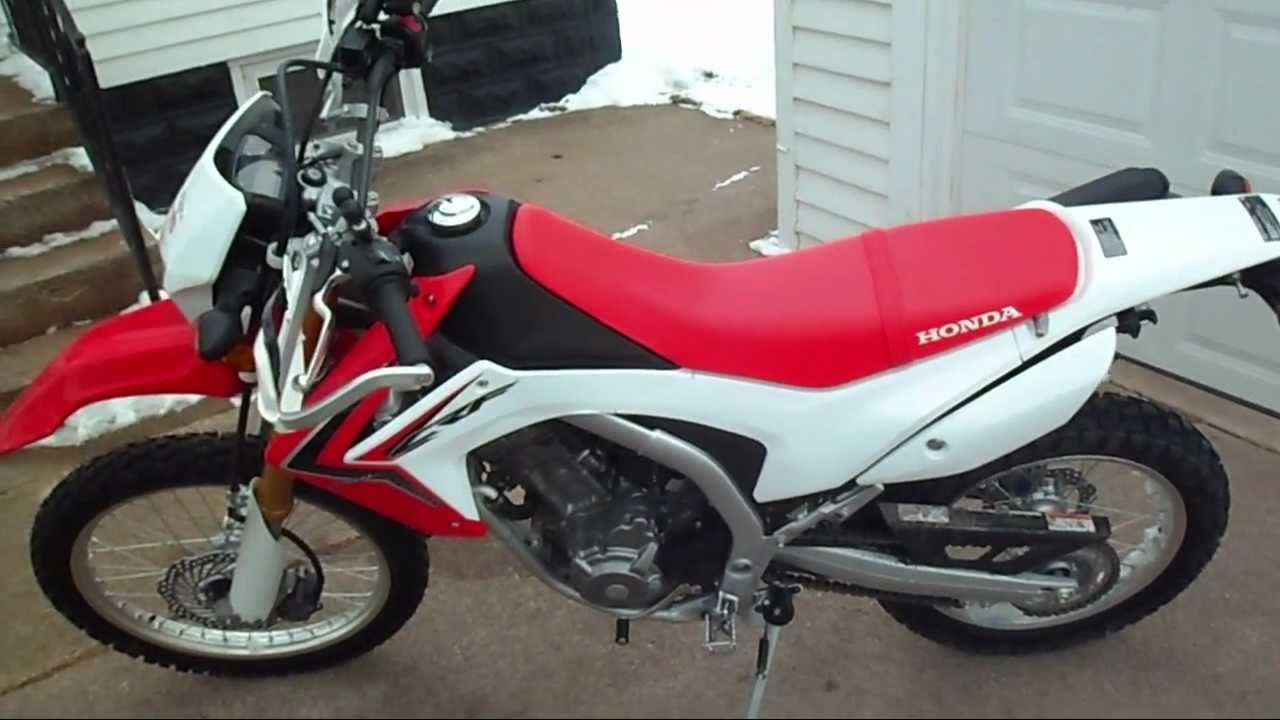 2013 Honda CRF250L Review / Initial Thoughts - YouTube