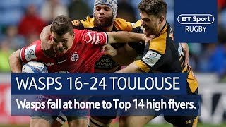 Wasps vs Toulouse (16-24) | Heineken Champions Cup Highlights
