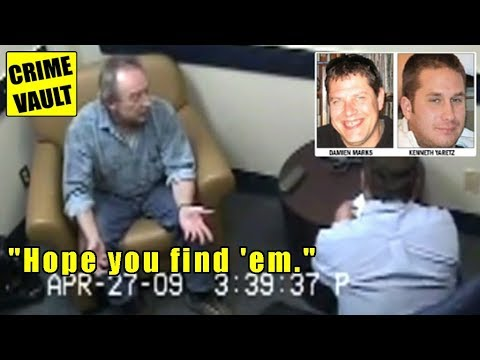 Double murder interrogation: Roy Fraser | Man shoots, kills & buries 2 people on his property