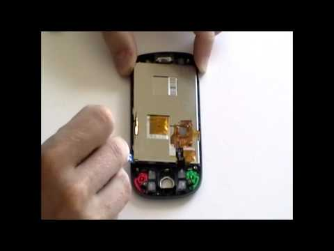 Replacing the HTC Hero Glass touch screen digitizer