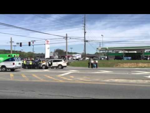 Serious accident again at Chulio and U.S. 411