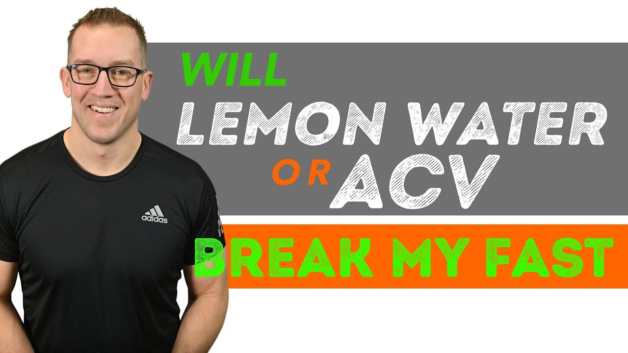 breaking water fast keto diet
