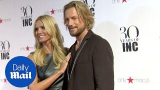 Heidi Klum shows excitement for NYFW at INC 30th anniversary - Daily Mail