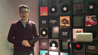Google Home Max, a demo by Chris Chan, Product Manager for Max