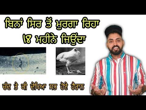 Moon Te Dekhya Alien NASA ਵੀ ਹੈਰਾਨ । ਬਿਨਾਂ ਸਿਰ ਤੋਂ ਮੁਰਗਾ Reha 18 Month Jiyonda | Facts | Punjab Made