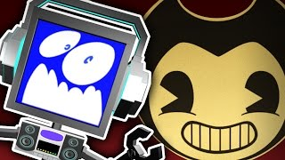 BENDY GLITCH?! | Bendy and the Ink Machine CHAPTER ONE Lets Play ► Fandroid GAME