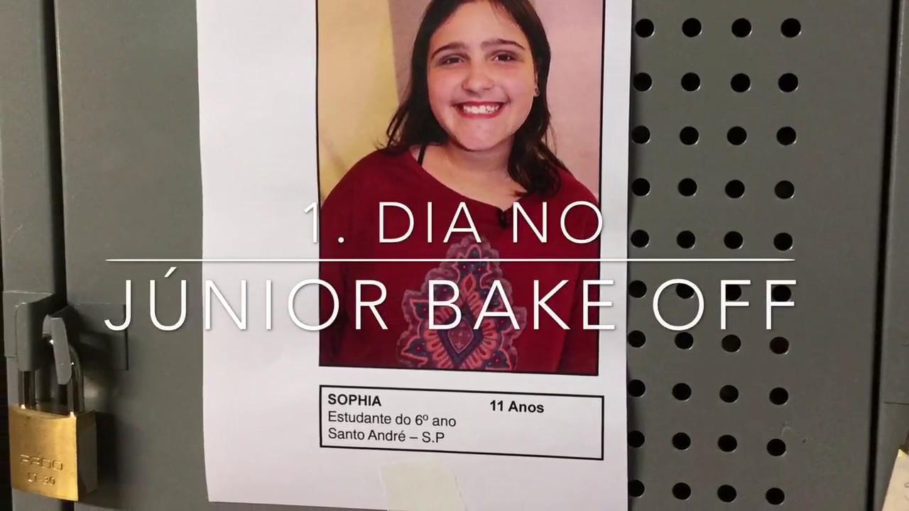 1o Dia No Junior Bake Off Brasil Sbt Sophia Blablabla Youtube