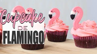 DIY - Cupcake de Flamingo   Carol e Thaís
