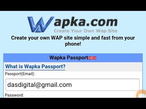 Wapka.Mobi ଵ୍ଏପସା ଇଟ୍ କେମିତି  Verify କରିବା ଓଡିଆରେ । Who to verify Wapka.mobi site