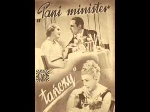 """Aleksander Żabczyński, Tola Mankiewiczówna - Już nie mogę dłużej kryć (""""Pani minister tańczy"""" 1937)"""