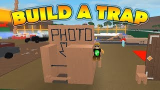 Lumber Tycoon 2 - BUILD A TRAP