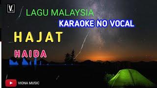 HAJAT - HAIDA ( Karaoke No Vocal )