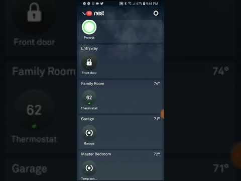 Nest X Yale Smart Lock Nest App Overview