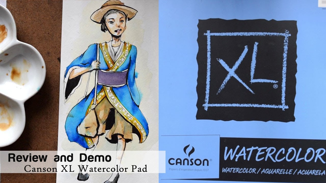 canson watercolor paper Cold pressed, art student grade watercolor paper with natural white appearance provides excellent color stability, gives excellent color representation.