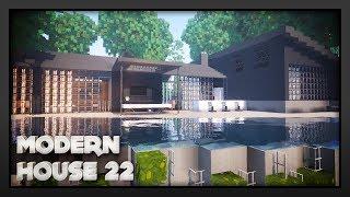 Minecraft - Modern House 22