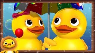 5 Little Ducks V2   Nursery Rhymes & Kids Songs!   Videos For Kids   Animal FURRENZY!