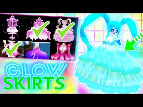 HOW TO GET A GLOWING SKIRT! Glow from HEAD to TOE in Royale High! thumbnail