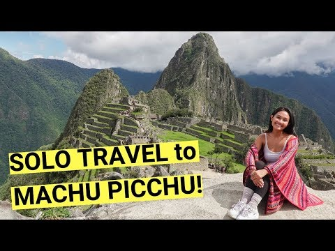 TRAVELING ALONE to MACHU PICCHU! + (tips & travel guide)