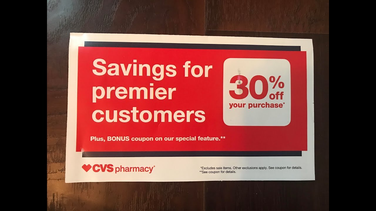 Cvs Coupons Check Your Mail Asap Youtube
