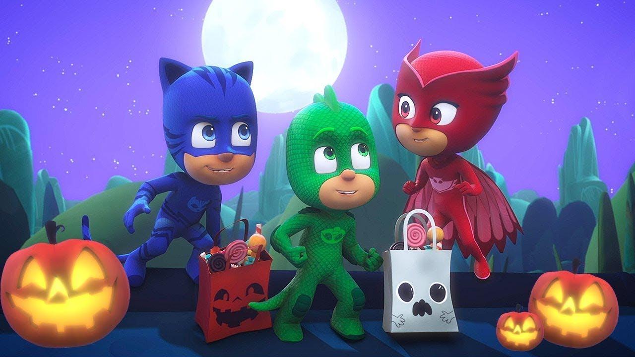 Download Halloween Tricksters Double Episode | PJ Masks Official