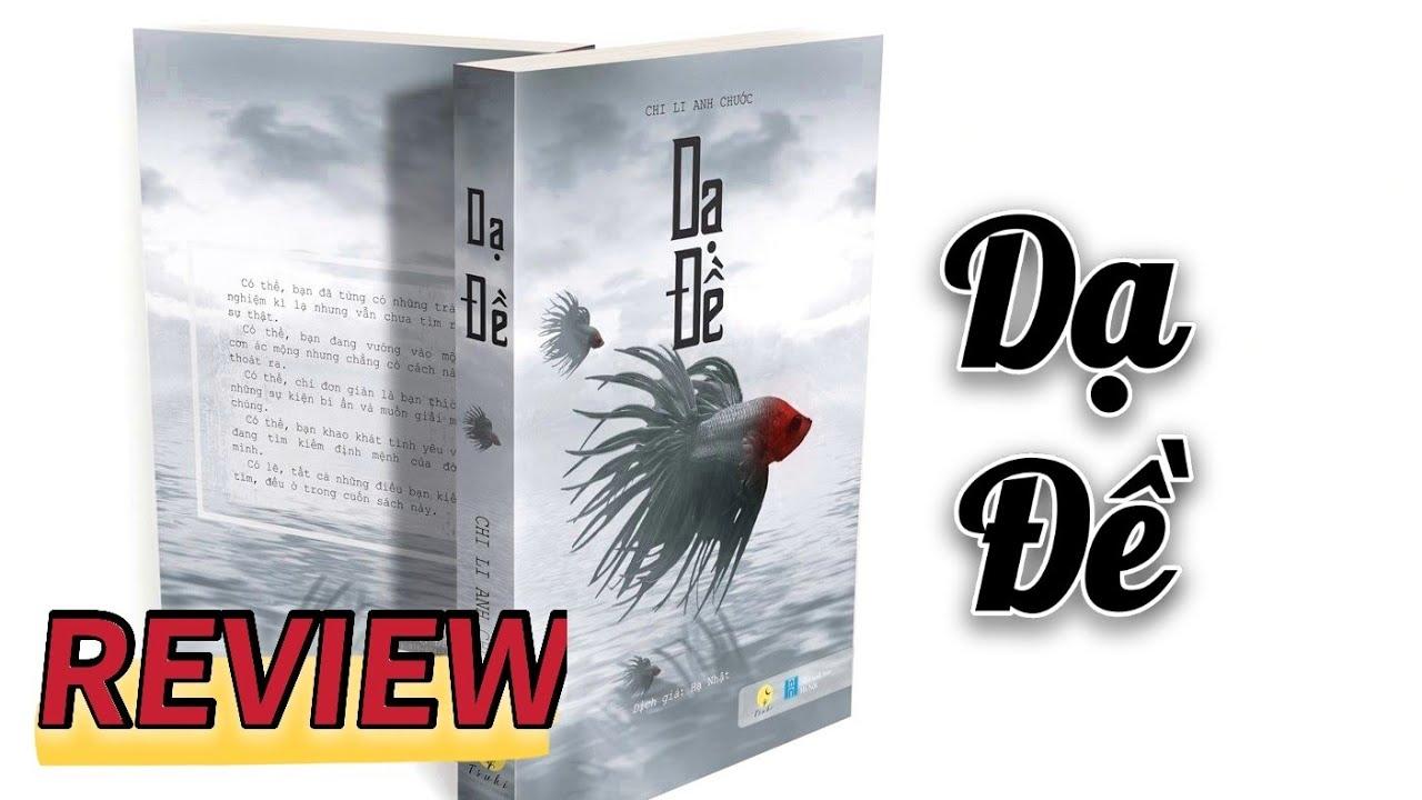 [Review Sách] Dạ Đề | Truyện trinh thám