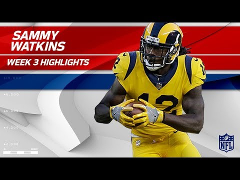Sammy Watkins Flies by San Francisco with 2 TDs!✈️  | Rams vs. 49ers | Wk 3 Player Highlights